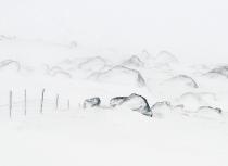 Icelandic landscape after a snow storm-Kees Bastmeijer  (1885)-klein